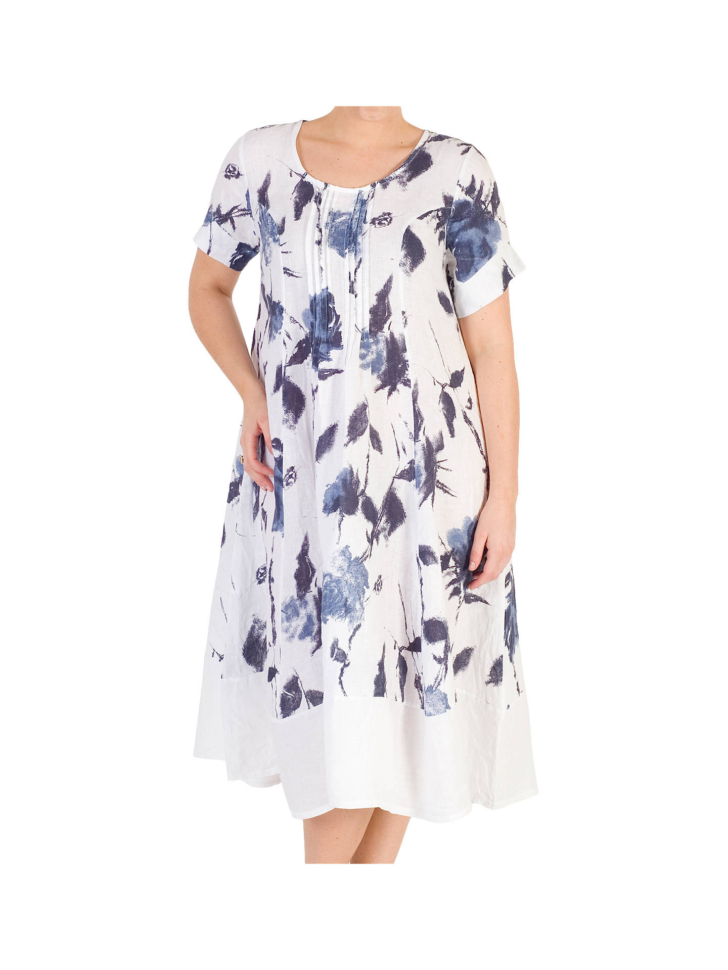 0f7f03b667 Buy Chesca Floral Print Linen Dress