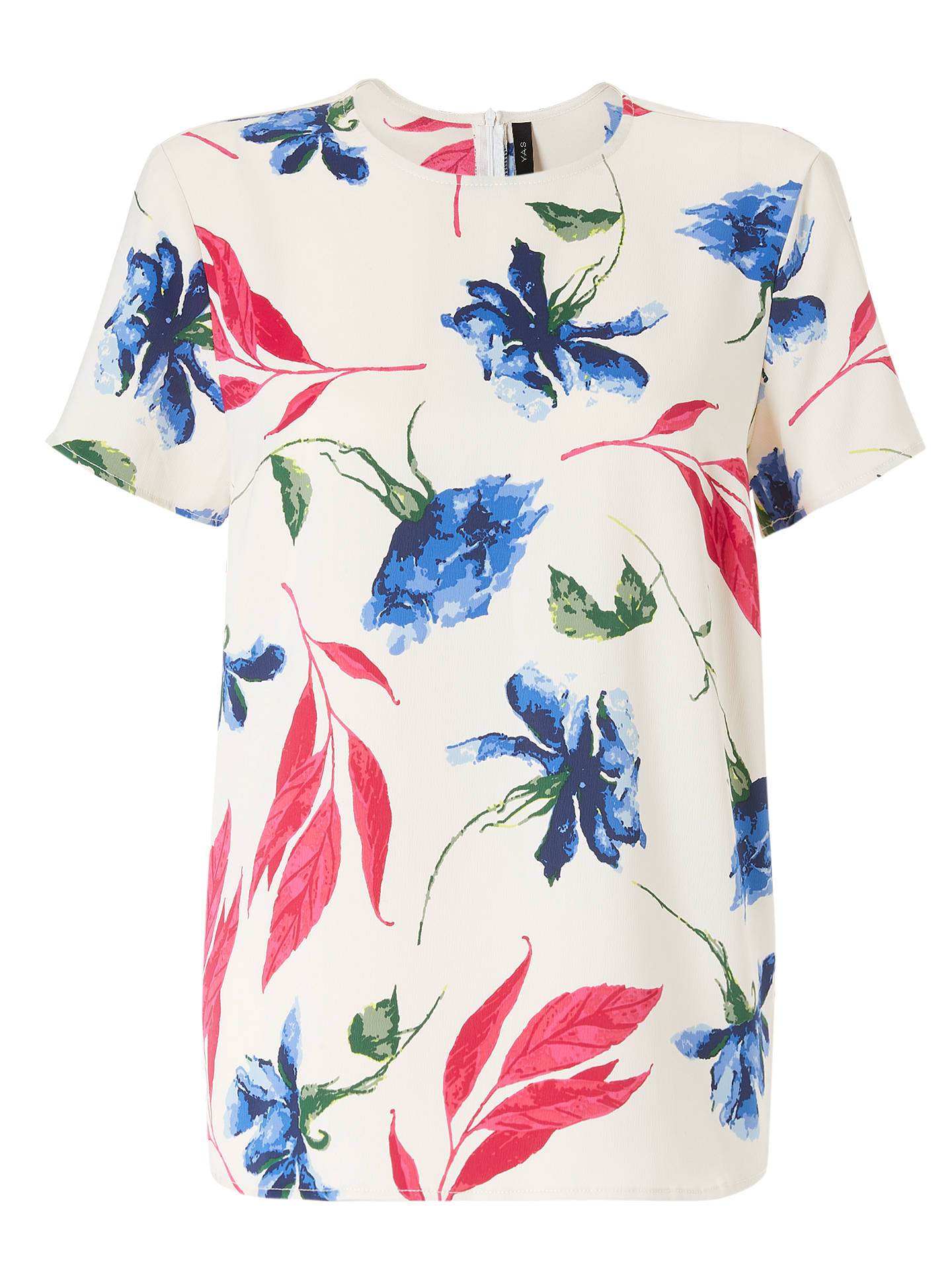 BuyY.A.S Yasblur Short Sleeve Top, Multi, L Online at johnlewis.com