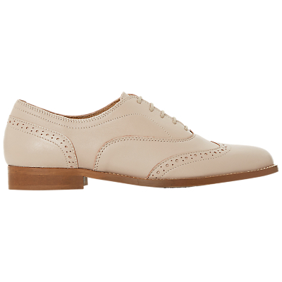 Dune Black Flaine Lace Up Brogues, Blush