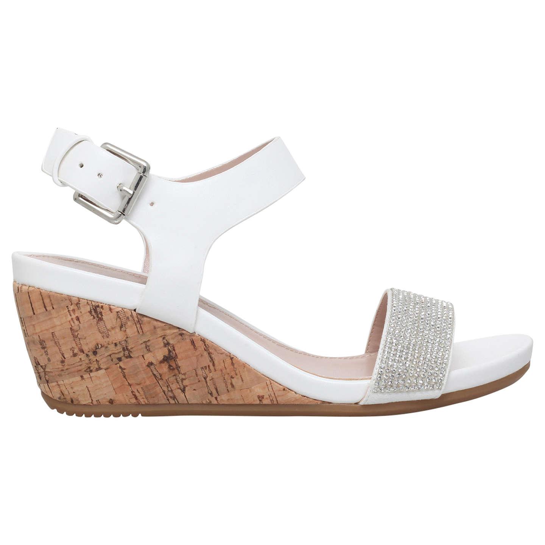 Carvela Sparkle Wedge Heel Sandals Buy Online Cheap bu5EJWaqZ