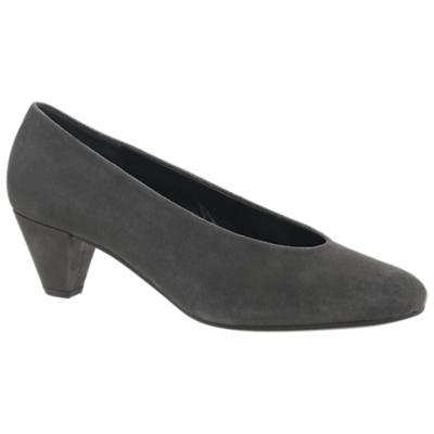 Gabor Gambit Block Heeled Court Shoes