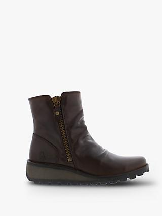Fly London Mong Side Zip Ankle Boots
