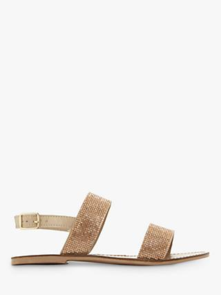 Steve Madden Alea Embellished Sandals, Gold
