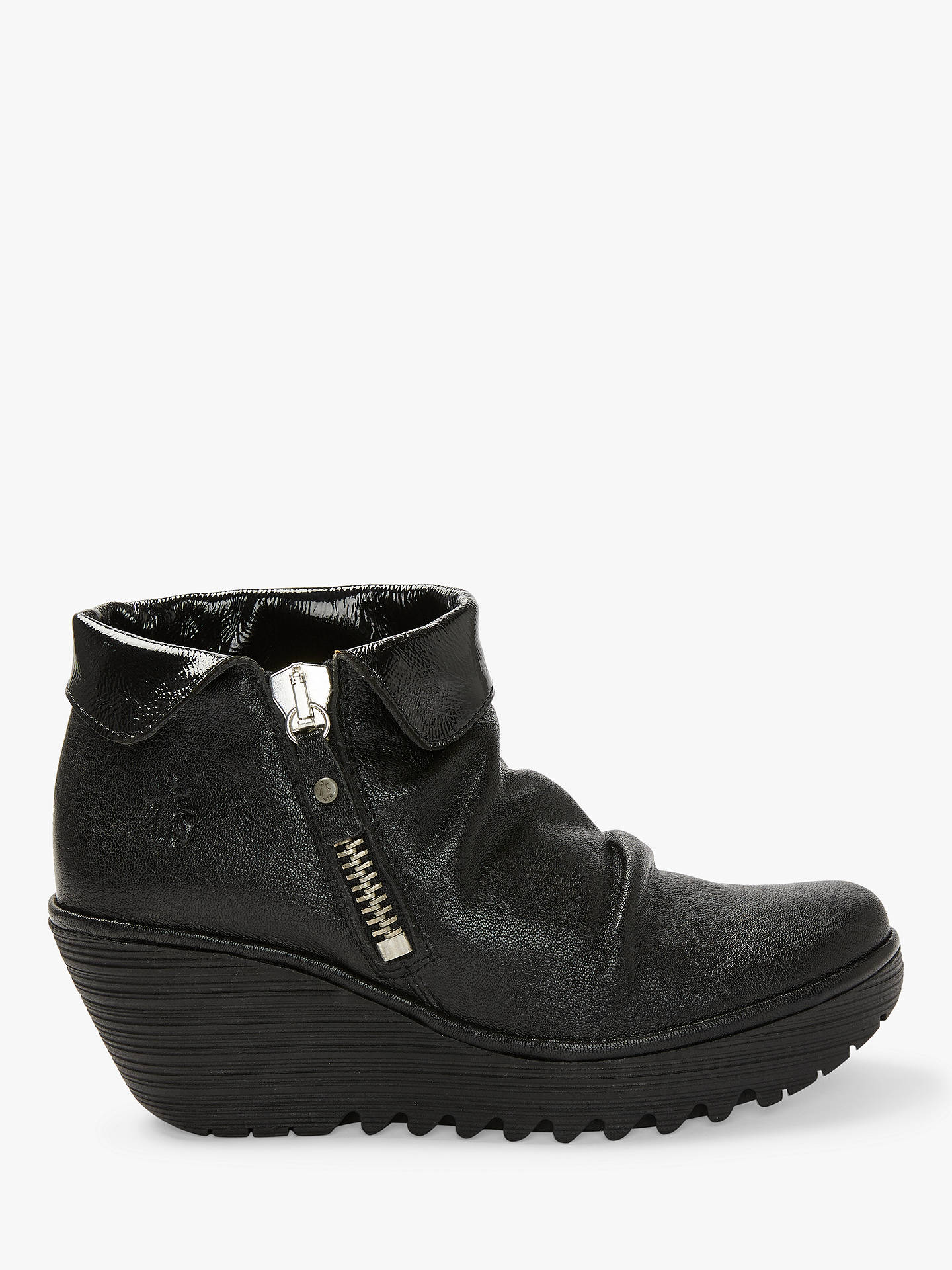 a9eb2cca0f9 Buy Fly London YOXI755Fly Folded Top Ankle Boots