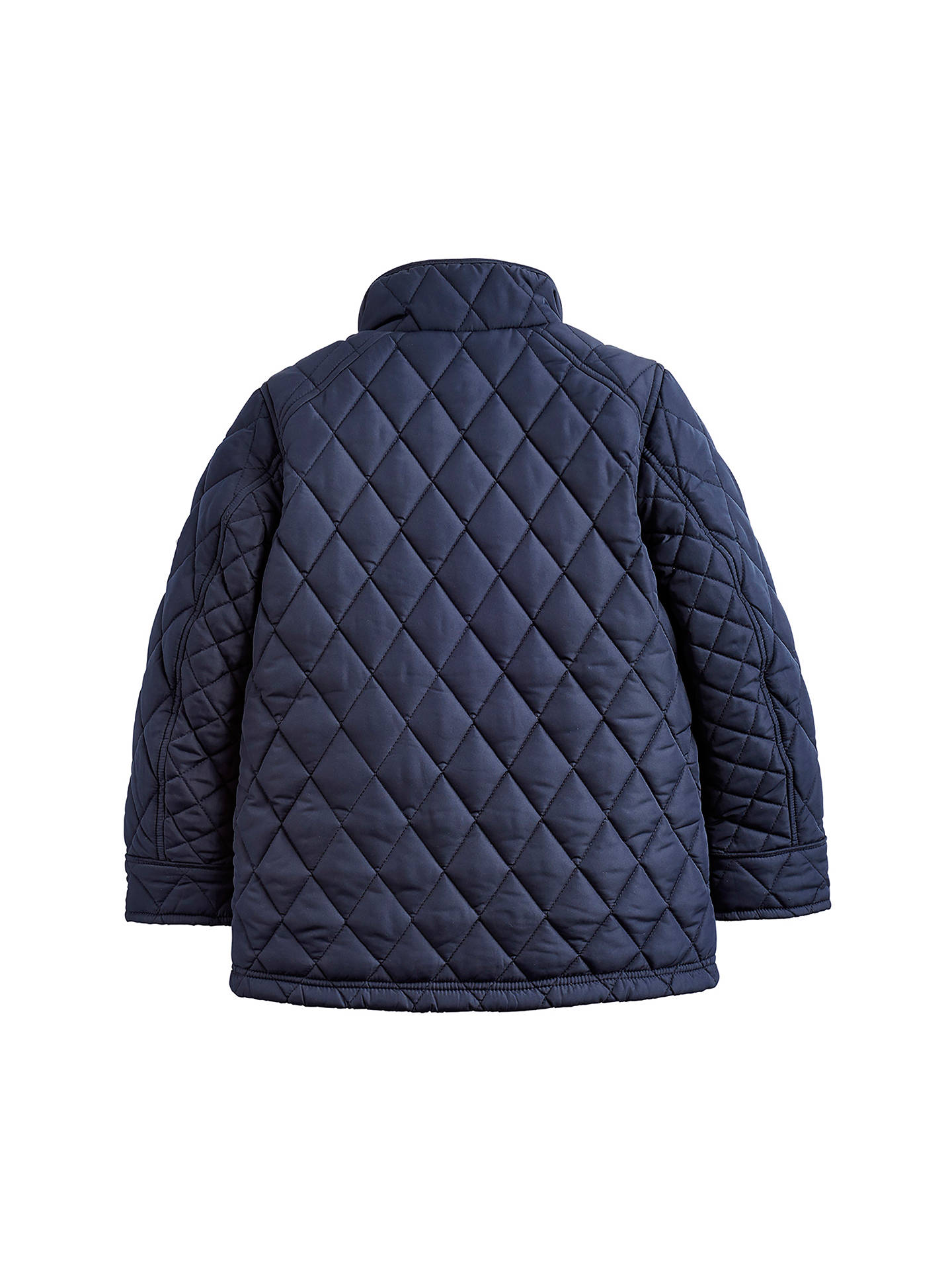 BuyLittle Joule Boys' Stafford Quilted Jacket, Navy, 4 years Online at johnlewis.com