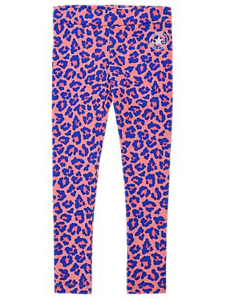 Converse Girls' Animal Print Leggings, Pink