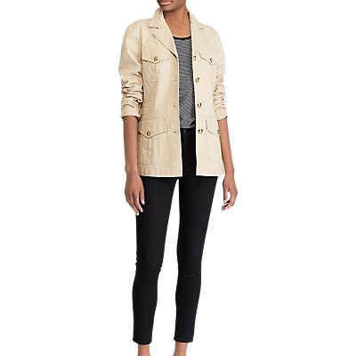 Lauren Ralph Lauren Braylin Cotton Jacket, Birch Tan