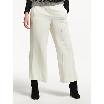 Marella Goloso Wide Leg Trousers, Wool White