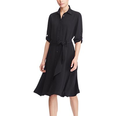 Lauren Ralph Lauren Karalynn Tie Waist Dress, Polo Black