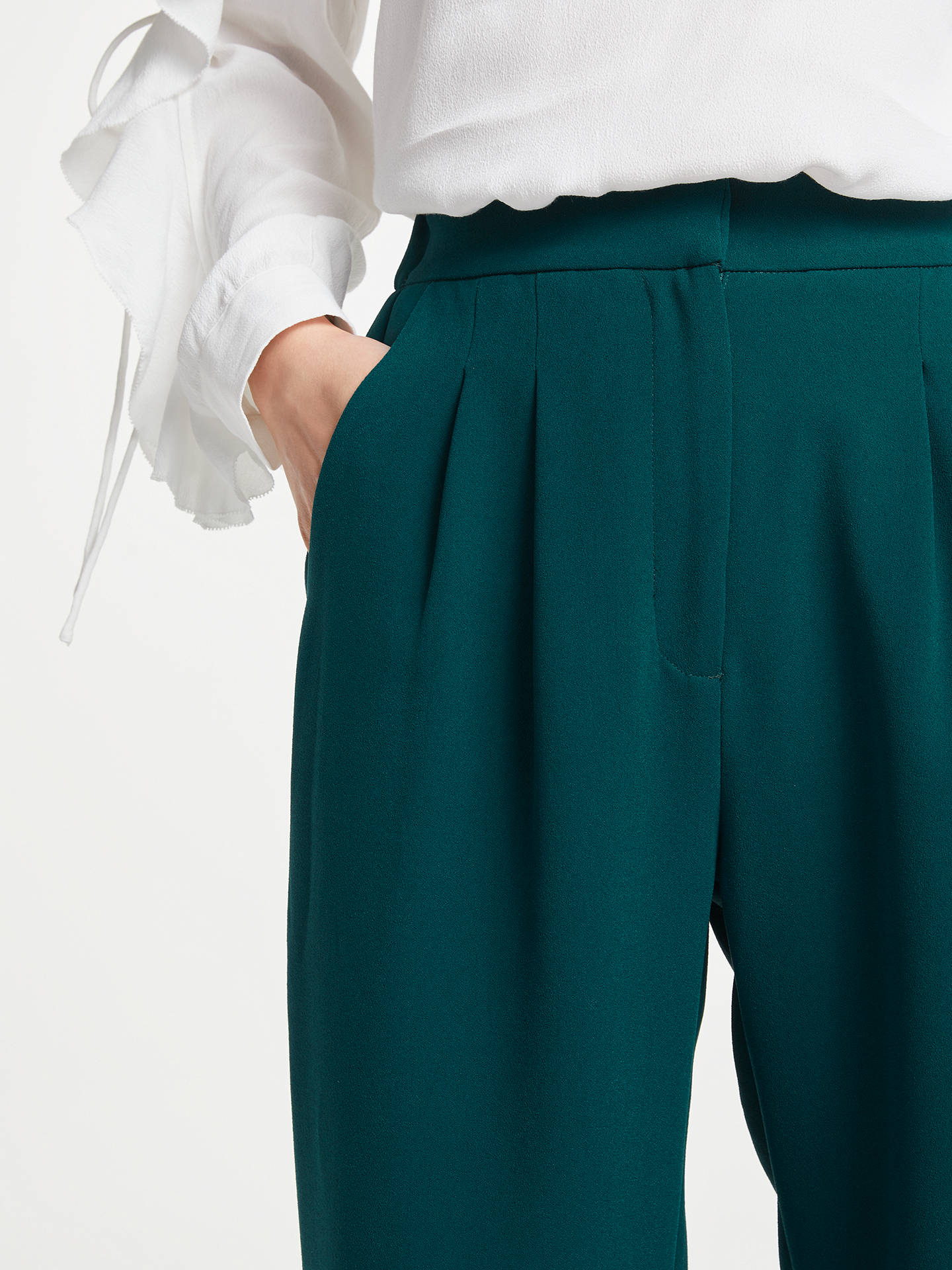 BuySUNCOO Joelle Trousers, Green, 8 Online at johnlewis.com