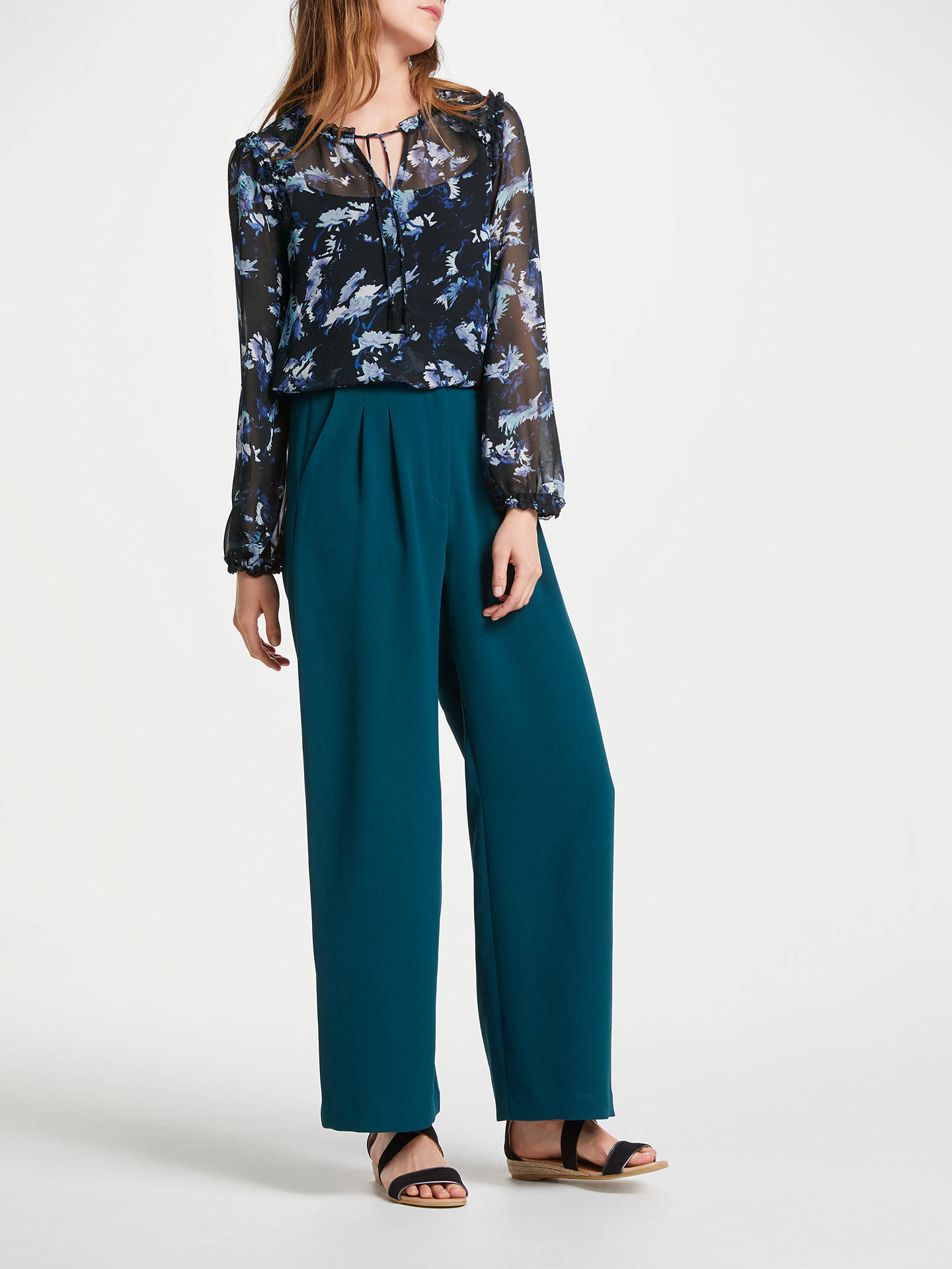 Buy SUNCOO Lizea Blouse, Black, 8 Online at johnlewis.com