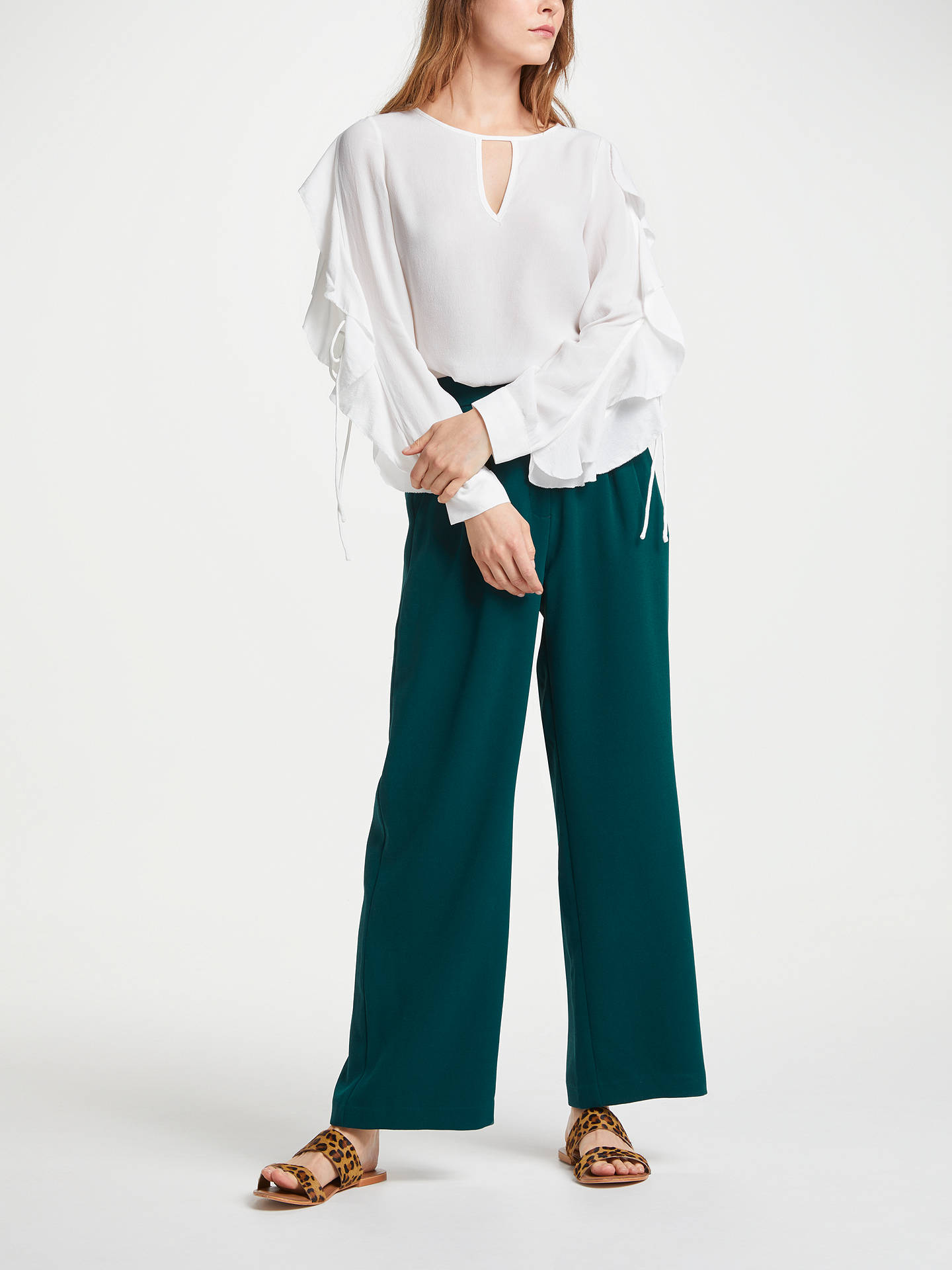 BuySUNCOO Leonard Blouse, White, 8 Online at johnlewis.com