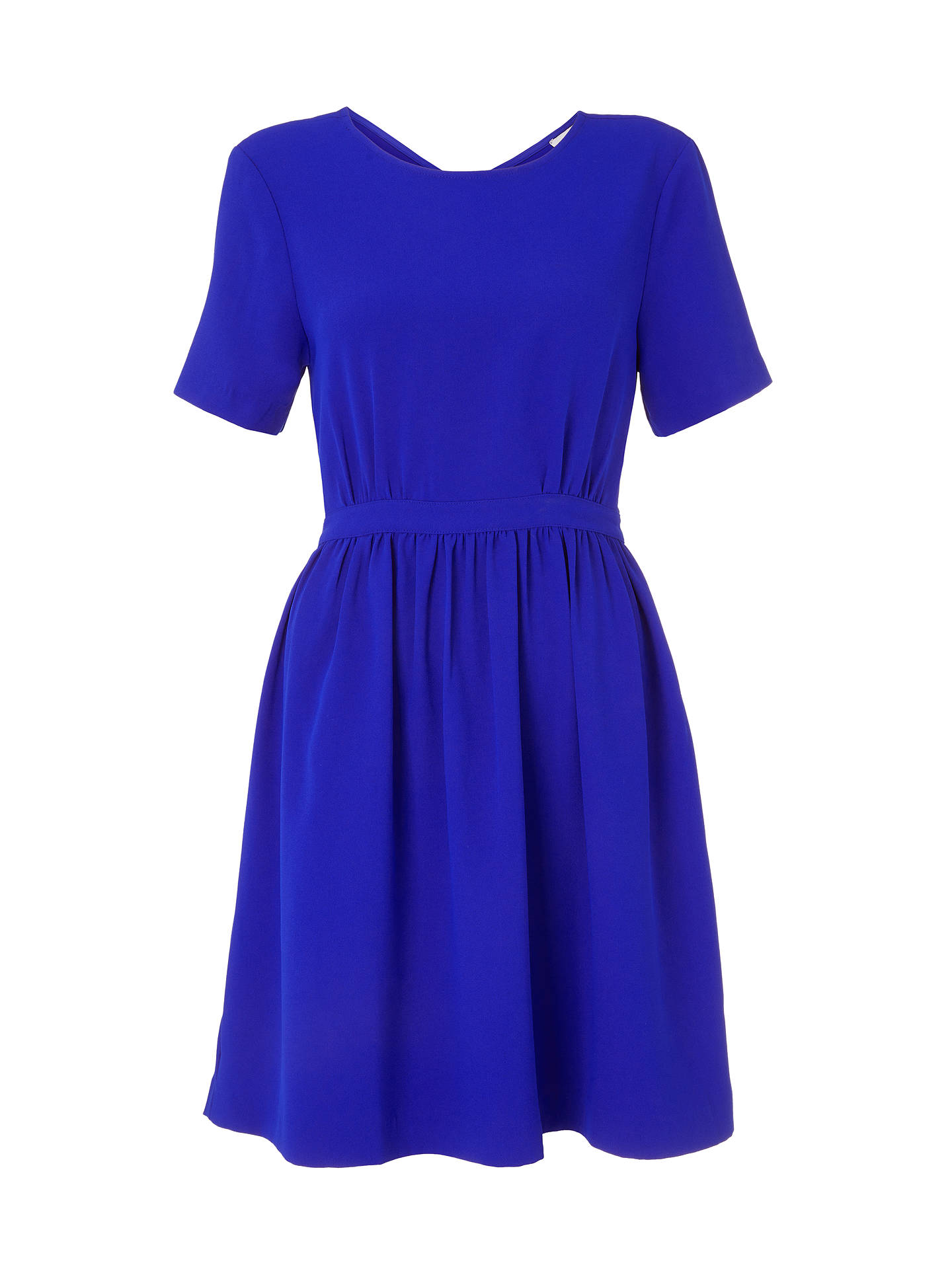 BuySUNCOO Corto Open Back Dress, Blue, 12 Online at johnlewis.com