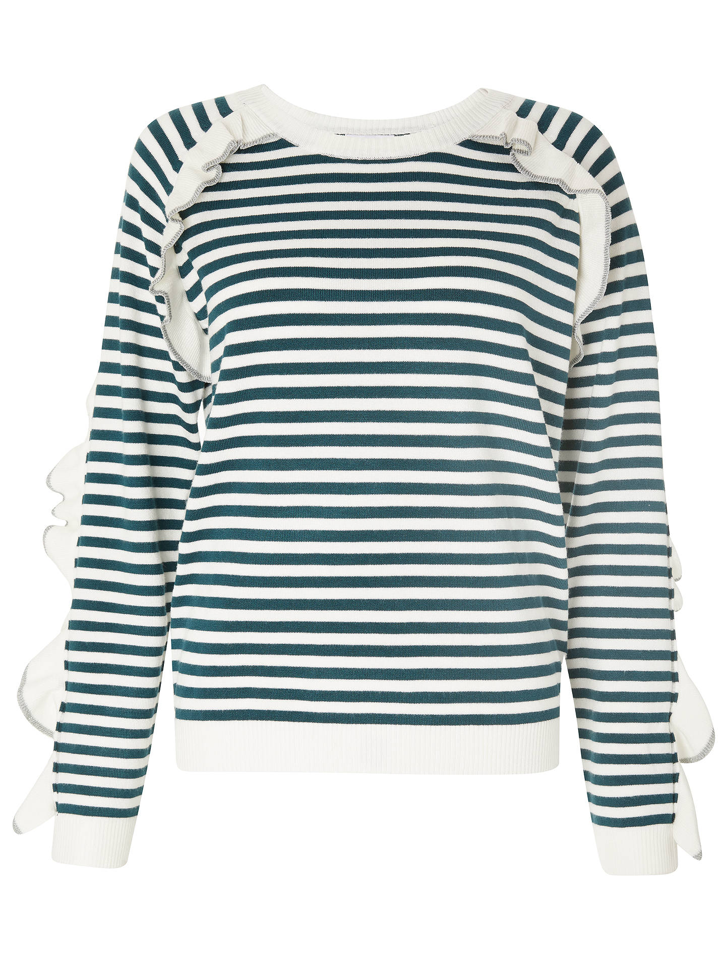 BuySUNCOO Pam Jumper, Green/Multi, 10 Online at johnlewis.com