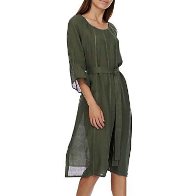Brora Gauzy Linen Dress, Alpine