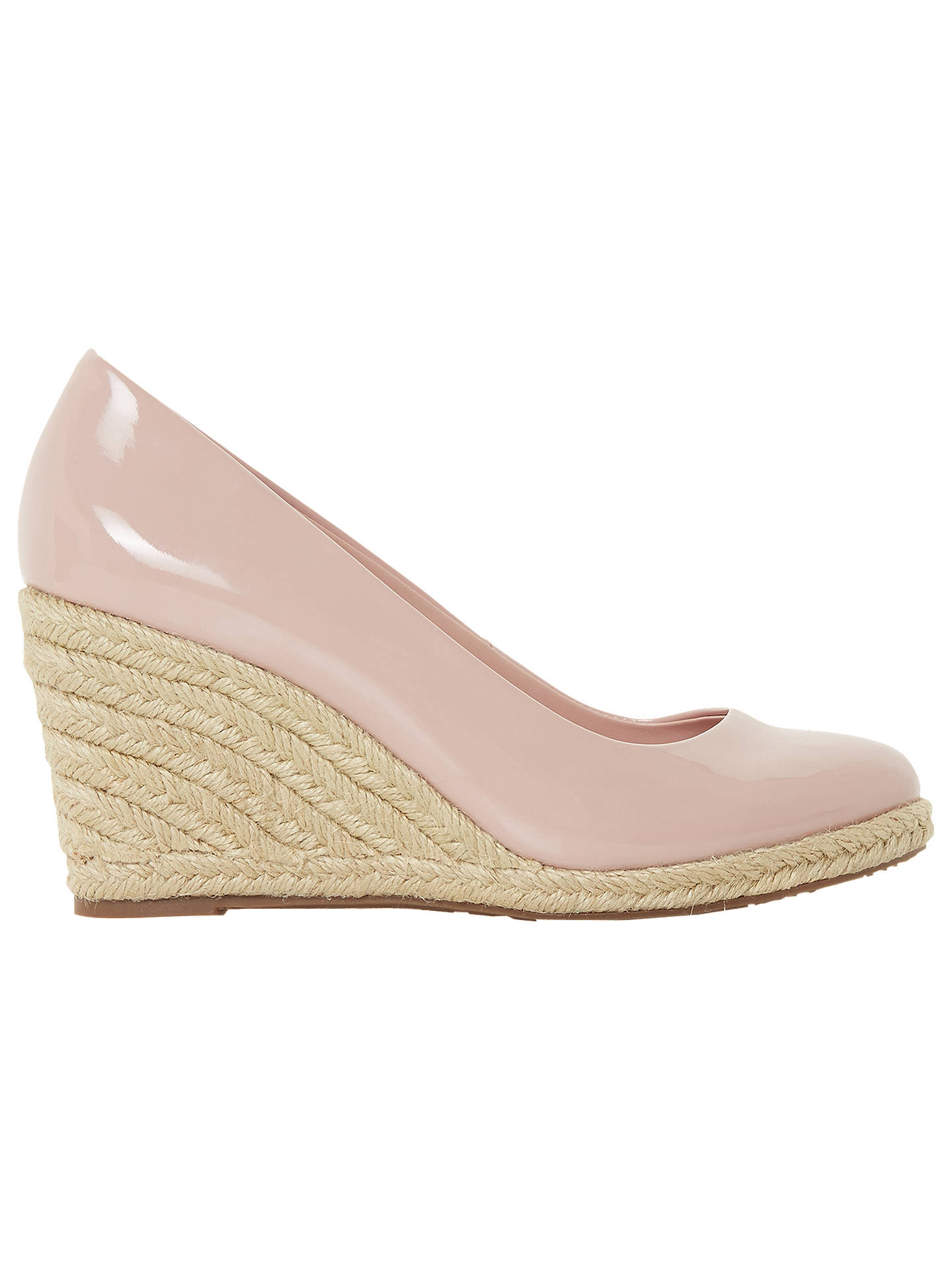 cc3f8b5778f Dune Annabela High Wedge Heel Court Shoes at John Lewis   Partners