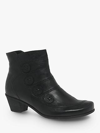 72a3a670e9e4 Gabor Georgie Block Heel Ankle Boots