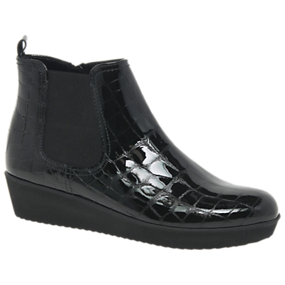 Gabor Ghost Wide Fit Ankle Chelsea Boots