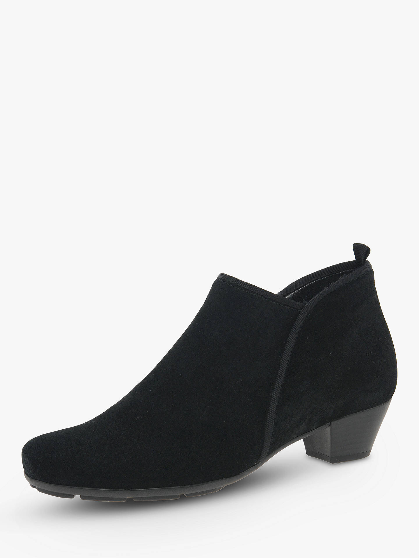 77d6f62cda24 Gabor Trudy Block Heel Ankle Boots at John Lewis   Partners