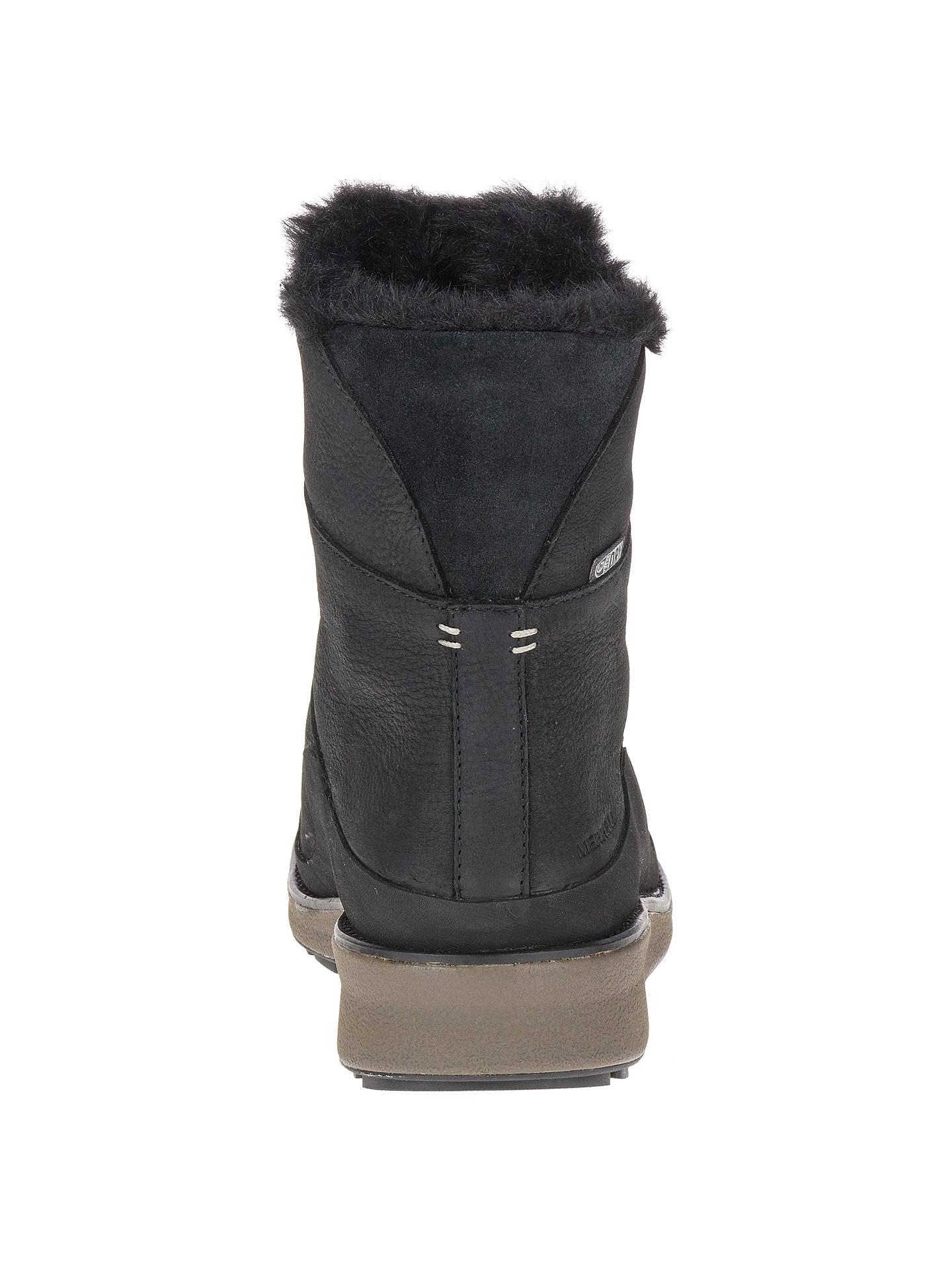 1c1d259e Merrell Tremblant Ezra Walking Boots, Black at John Lewis & Partners