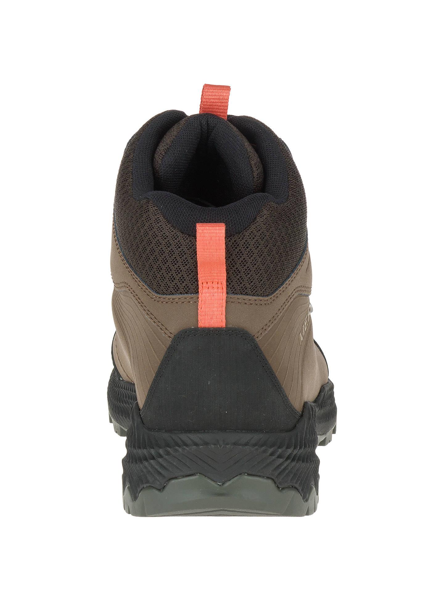 496bc482 Merrell Forestbound Mid Waterproof Men's Walking Boots, Dark Earth ...