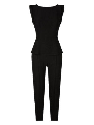 Buy Fenn Wright Manson Debbie Jumpsuit, Black, 8 Online at johnlewis.com