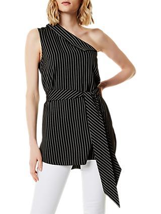 db59973260775 Karen Millen Stripe Off The Shoulder Top