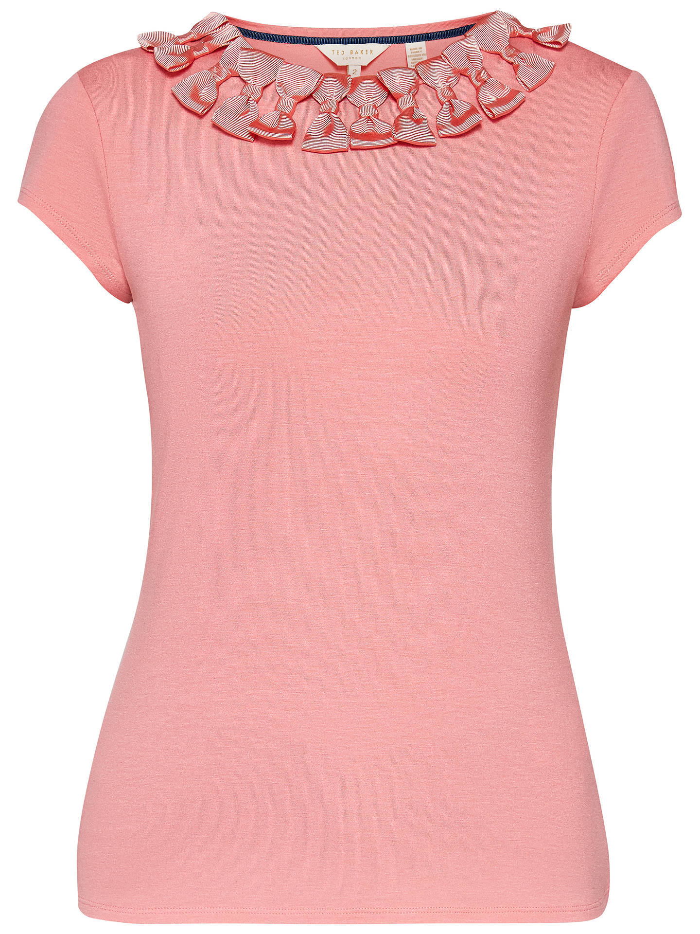 b8d33c0b3 ... Buy Ted Baker Charre Bow Trim T-Shirt