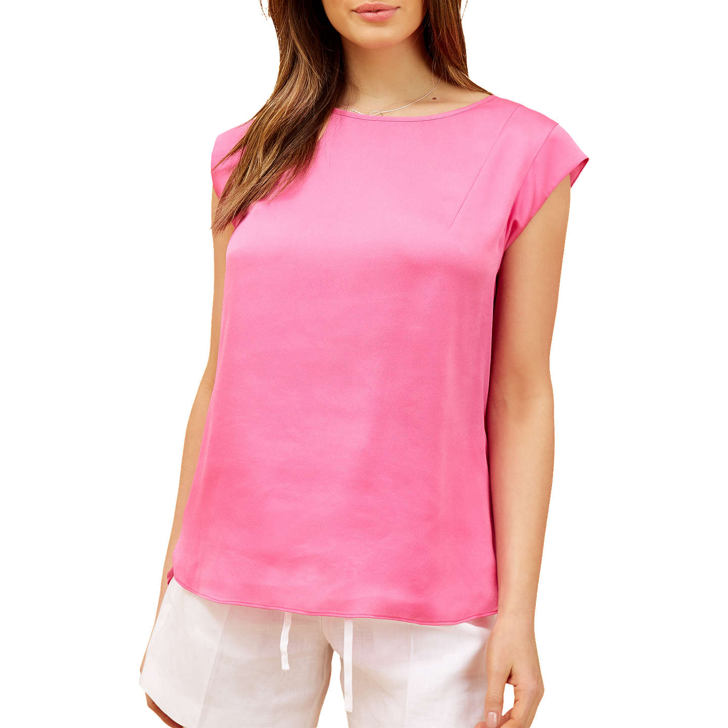 BuyFenn Wright Manson Petite Corfu Top, Pink, 12 Online at johnlewis.com