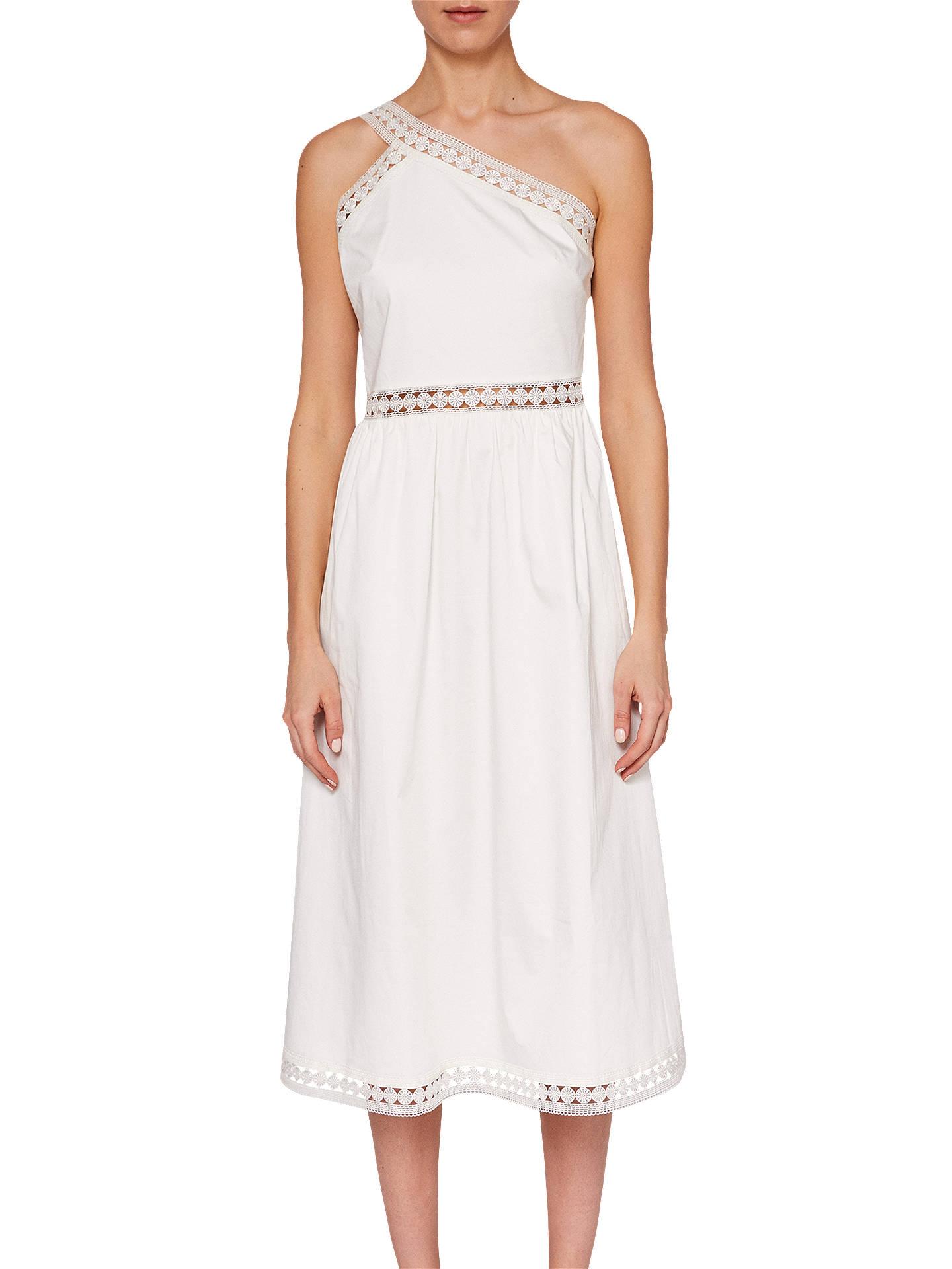 3480e994f Ted Baker Cottoned On Kallii Asymmetric Cotton Dress at John Lewis ...