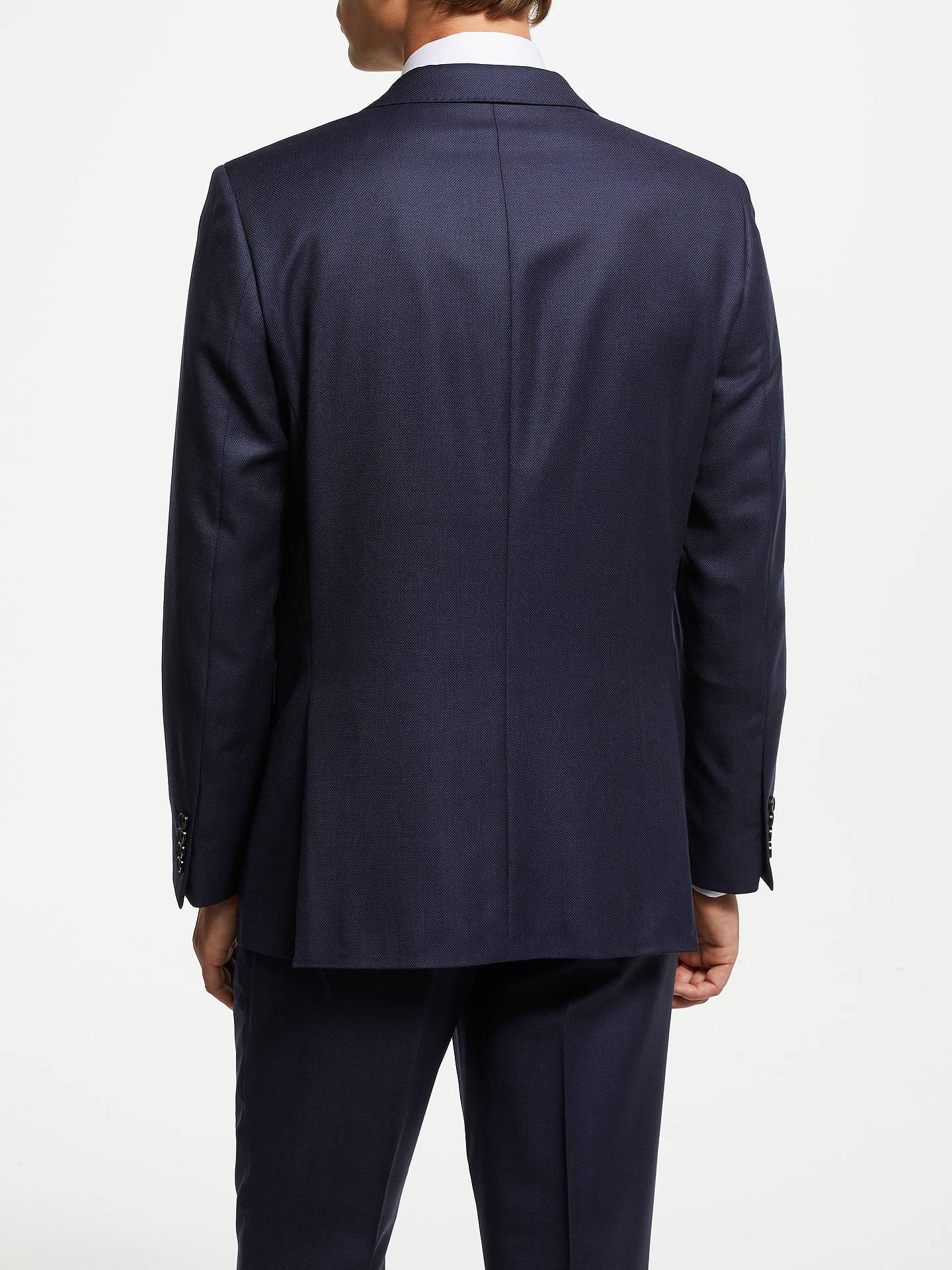 439d0da4 John Lewis & Partners Zegna Birdseye Suit Jacket, Navy