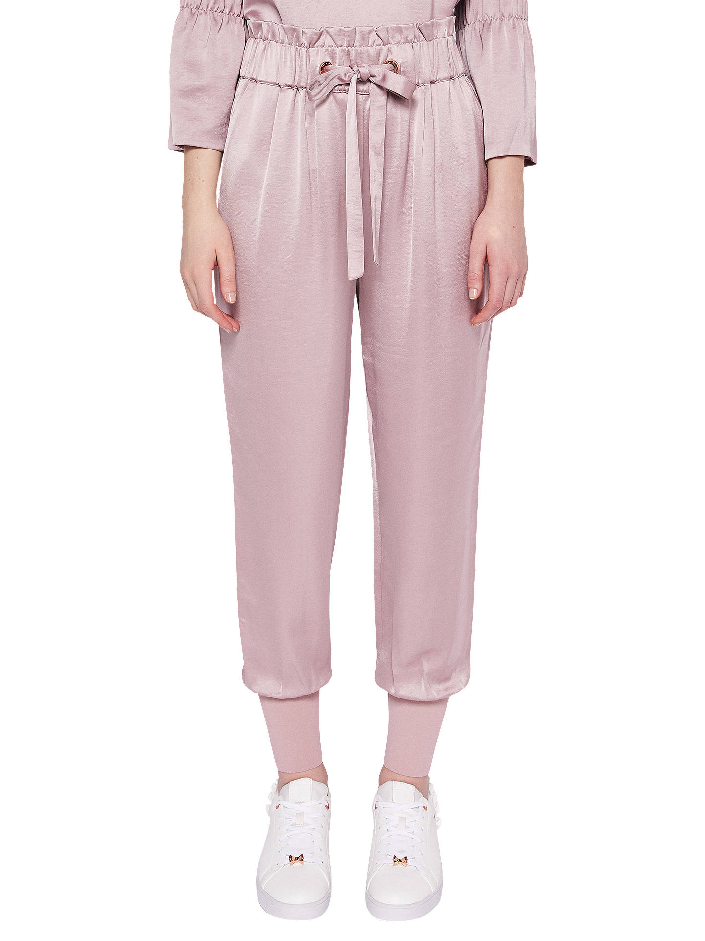 baa8000c5654 Ted Baker Ted Says Relax Nayarmi Paper Bag High Waist Trousers at ...