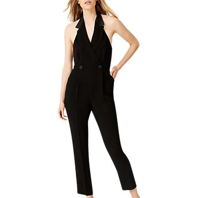 Damsel in a Dress Tahlia Tux Jumpsuit, Black