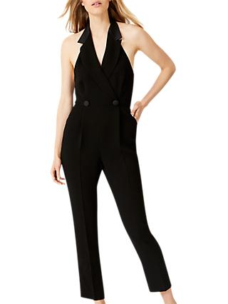 Damsel in a Dress Tahlia Tux Jumpsuit, Black