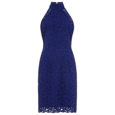 Damsel in a Dress Edolie Lace Dress, Cobalt Blue