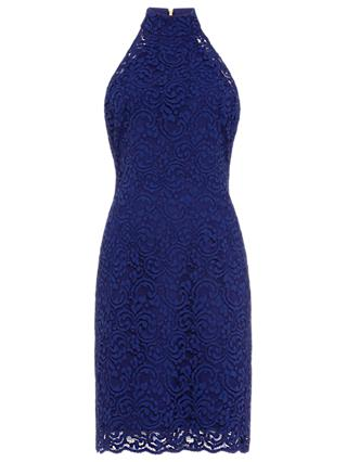 Damsel in a Dress Edolie Lace Dress, Cobalt Blue