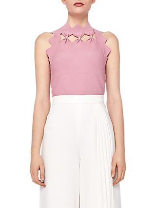 2049ccdd80c Ted Baker Bow Detail Knit Top