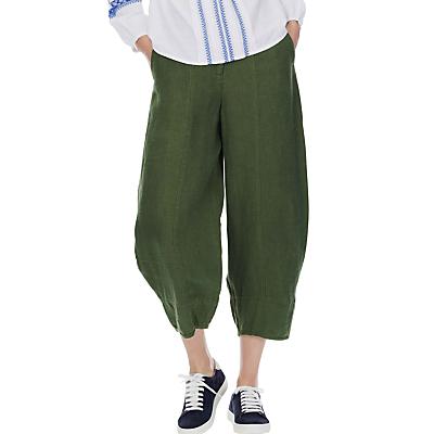 Brora Cocoon Linen Trousers, Alpine