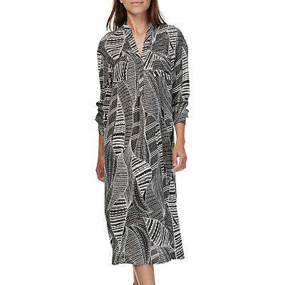 Brora Graphic Print Tunic Dress, Monochrome