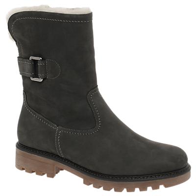 Gabor Banca Ankle Boots, Grey Nubuck