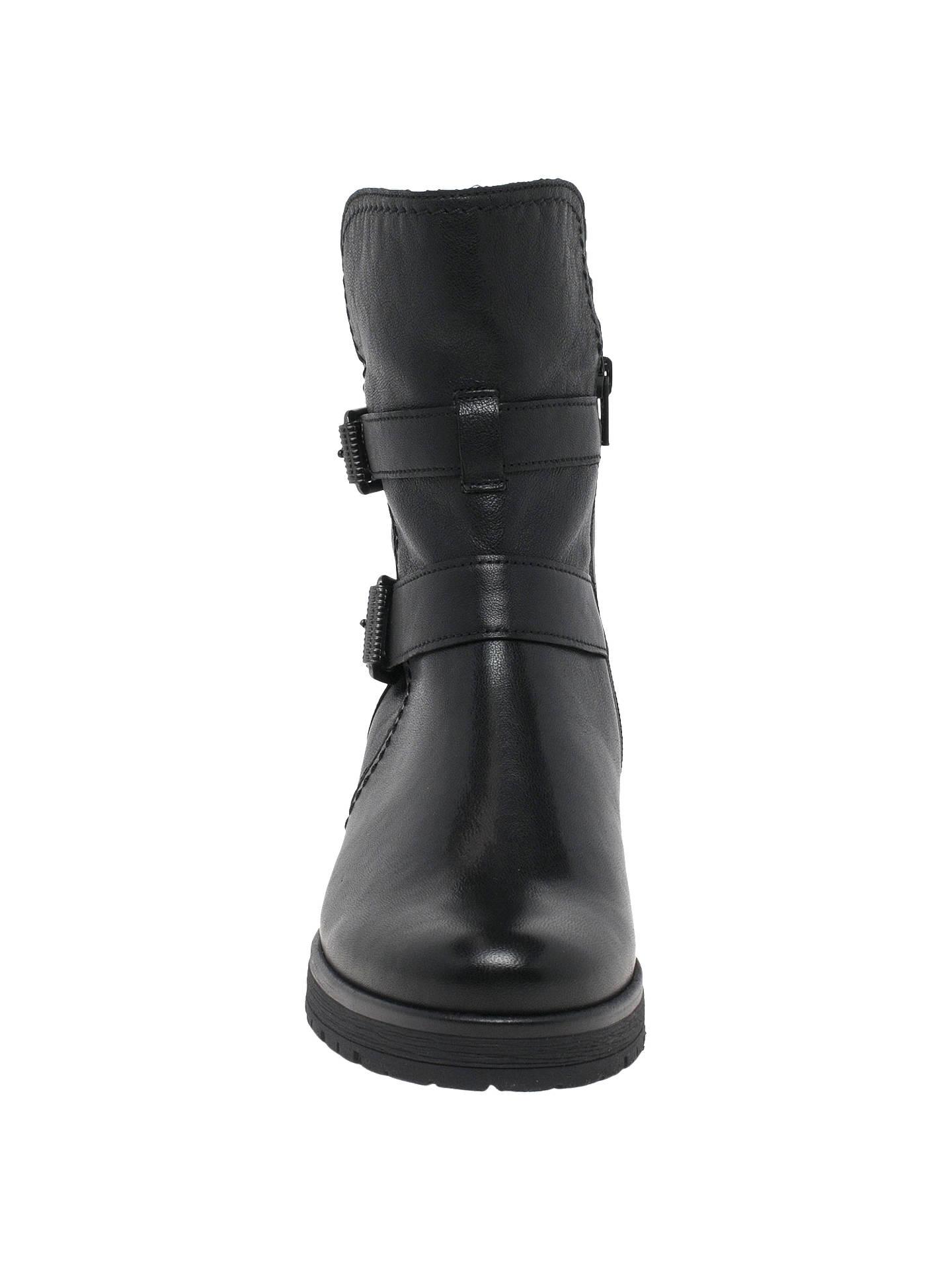 ba97933775d75 ... Buy Gabor Shiraz Wide Fit Boots, Black Leather, 3 Online at  johnlewis.com ...