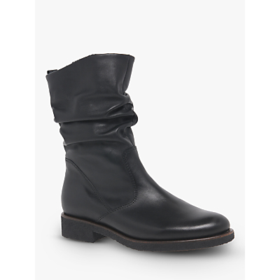 Gabor Greendale Medium Fit Gathered Detail Calf Boots