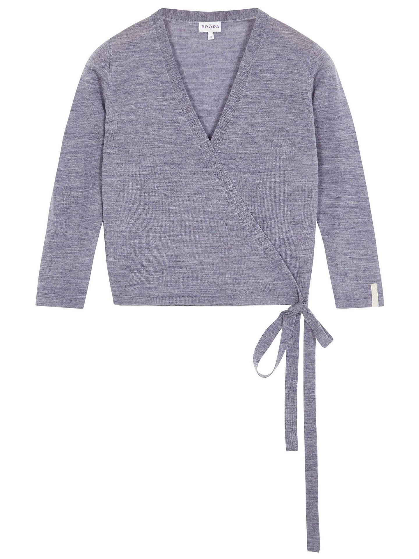 b4cee78a4f ... Buy Brora Merino Wool Ballet Wrap Cardigan