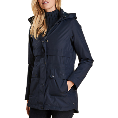 Barbour Altair Waterproof Jacket, Navy