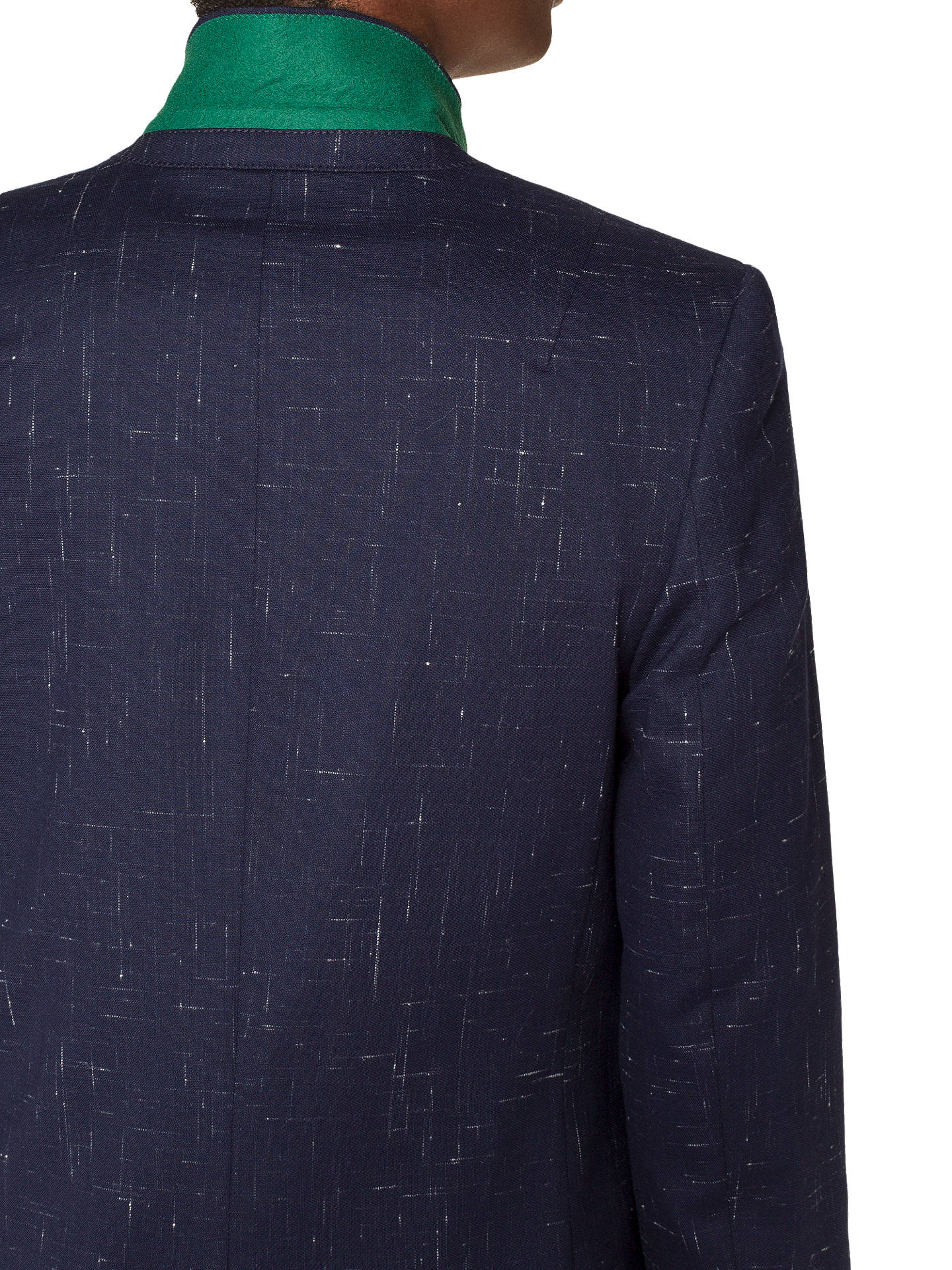 BuyPS Paul Smith Fleck Blazer, Navy, 8 Online at johnlewis.com