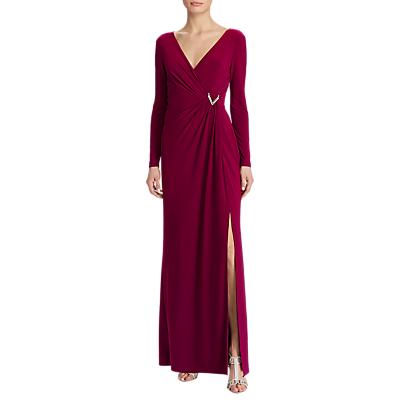 Lauren Ralph Lauren Jillie Jersey Dress, Exotic Ruby
