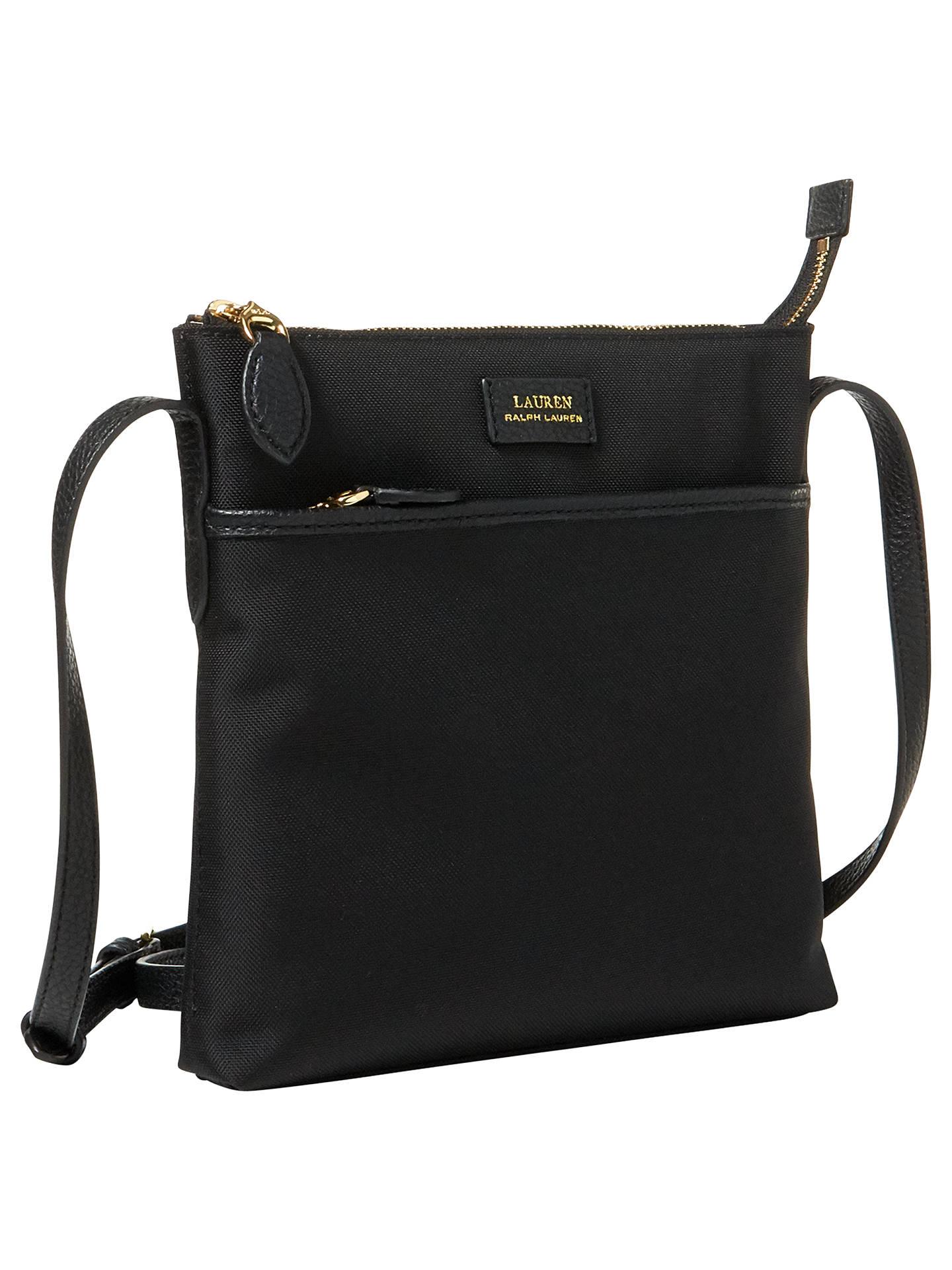 44ce15487a4 ... BuyLauren Ralph Lauren Cross Body Bag, Black, One Size Online at  johnlewis.com ...