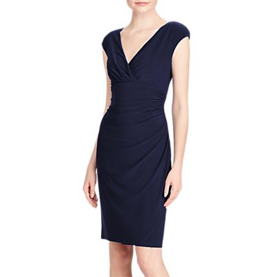 Lauren Ralph Lauren Adara Capped Sleeve Dress, Lighthouse Navy