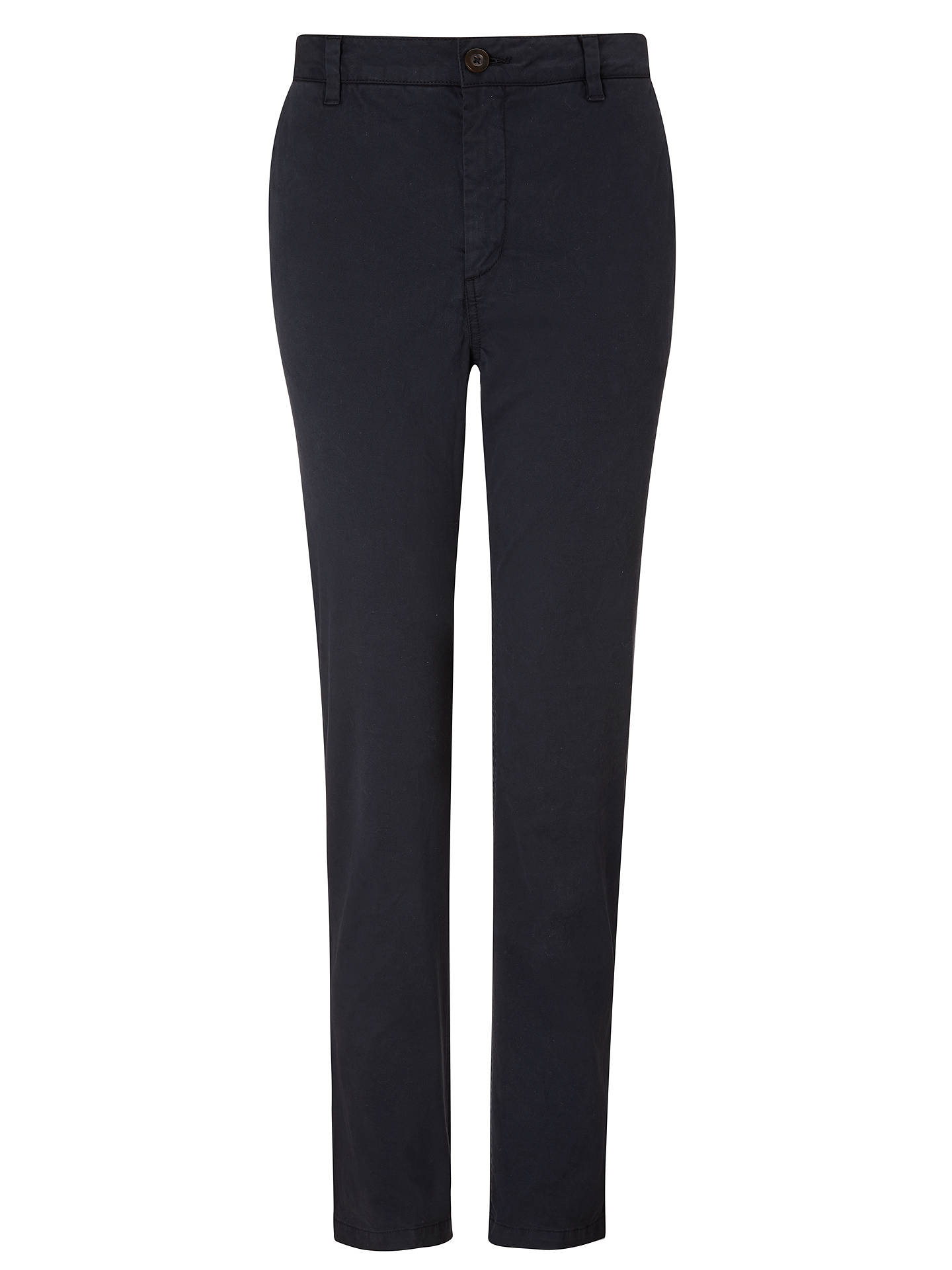 BuyJohn Lewis & Partners Washed Girlfriend Chinos, Black, 8 Online at johnlewis.com