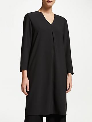 John Lewis & Partners V-Neck Long Sleeve Dress